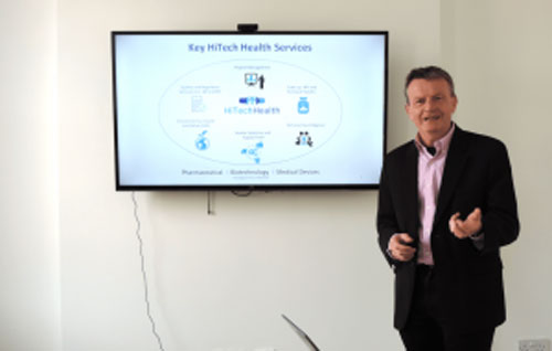 HiTech Health is on a different level after refining elevator pitch